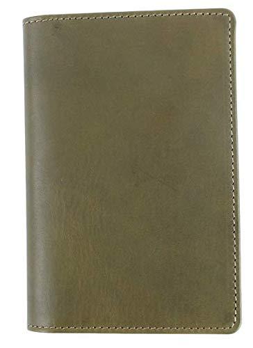 [Boosters] ブースターズ ミネルバリスシオ パスポートケース 二つ折り 革 本革 メンズ 5.5インチ カードケース オリーバ