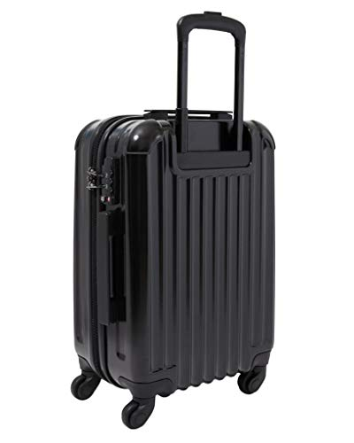 Aer de Aer Carry On Luggage Spinner - Super Light, Maximum Capacity