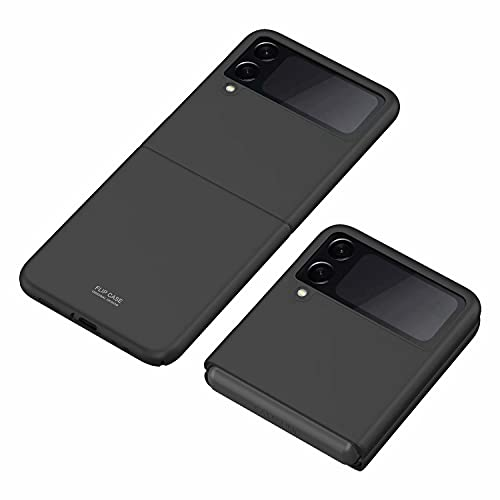 Wuzixi Hülle für Samsung Galaxy Z Flip 3. Anti-Scratch Ultra Dünn Schlank Stoßfest, Elastische Schockabsorption & Ultra Thin Design für Samsung Galaxy Z Flip 3.Schwarz