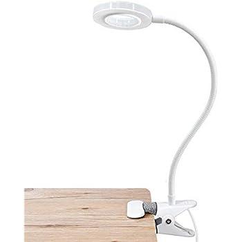 Xiaomi 5W LED Lampe de Table USB Clip Rechargeable Protection Oculaire 3 Modes de Lecture