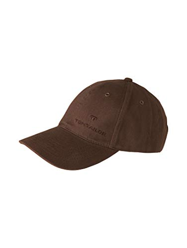 TOM TAILOR Damen Gürtel & Riemen Baseball-Cap mit Stickerei d.braun/dk. brown,OneSize,B690,8000