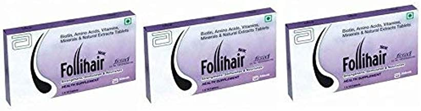 Follihair New Tablets (Tablets Count: 30), from Life Line Medicos