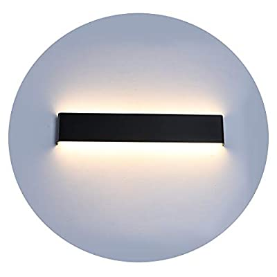 Ralbay LED Wall Light High Bright Modern Up and Down Indoor Wall Light Sconce Lighting Lamp Hallway Stairs Hotels Lights, Natural White Light 4000K, 27.9IN