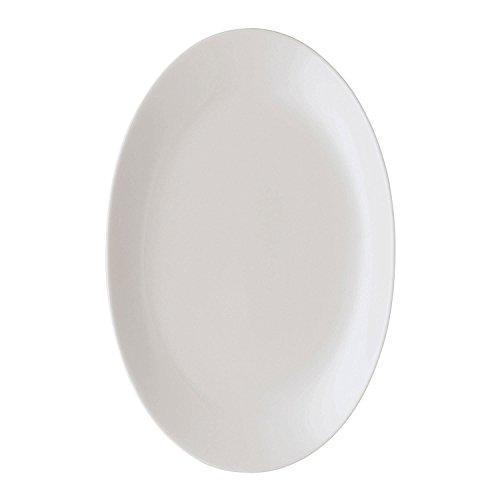 Arzberg Form 2000 Plat, Ovale, Plat Accompagnement, Plat de Service, White, Porcelaine, 26 cm, 42000-800001-12726