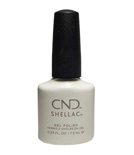 CND Shellac UV Gel Soak Off Nail Polish Choose From 89 Colours Inc All The Collections & The New Garden Muse Collection (allthingsbountiful) (étude White) by Shellac