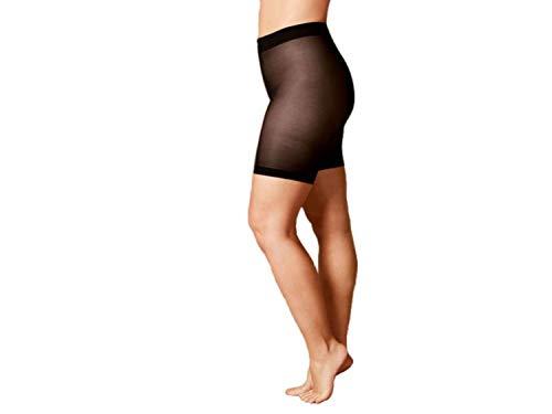 Esmara Strumpf Panty 40 DEN Lycra® 2 Stück Schwarz L 44/46