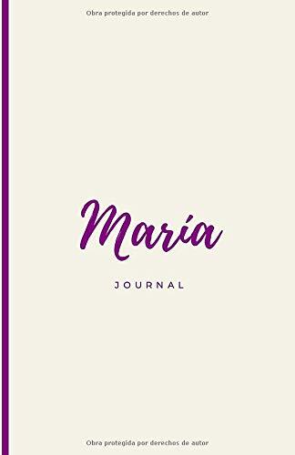 Nombre Maria Journal Rayas Ideal para regalos Profesores y Maestros: Libreta Personalizada Cuaderno Para Escribir (Personalizado Maria)