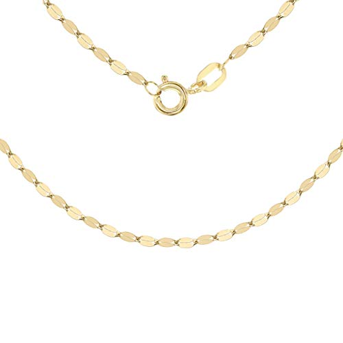 Carissima Gold Women's 9 ct Yellow Gold Forzatina Chain of Length 51 cm