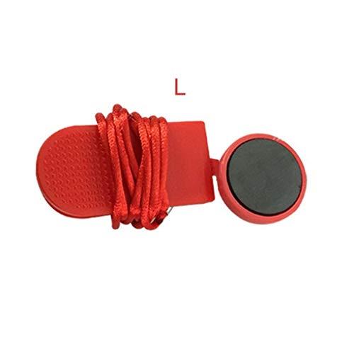 S-TROUBLE Laufmaschine Sicherheitsschlüssel Laufband Magnetischer Sicherheitsschalter Lock Fitness Universal Zubehör