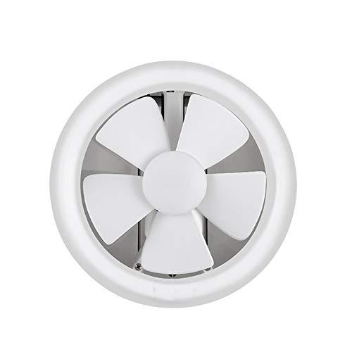 MHRCJ Ventilación Extintor de baño WC Ventilador Extintor de obturación Silencio Tipo de Cristal de Ventana