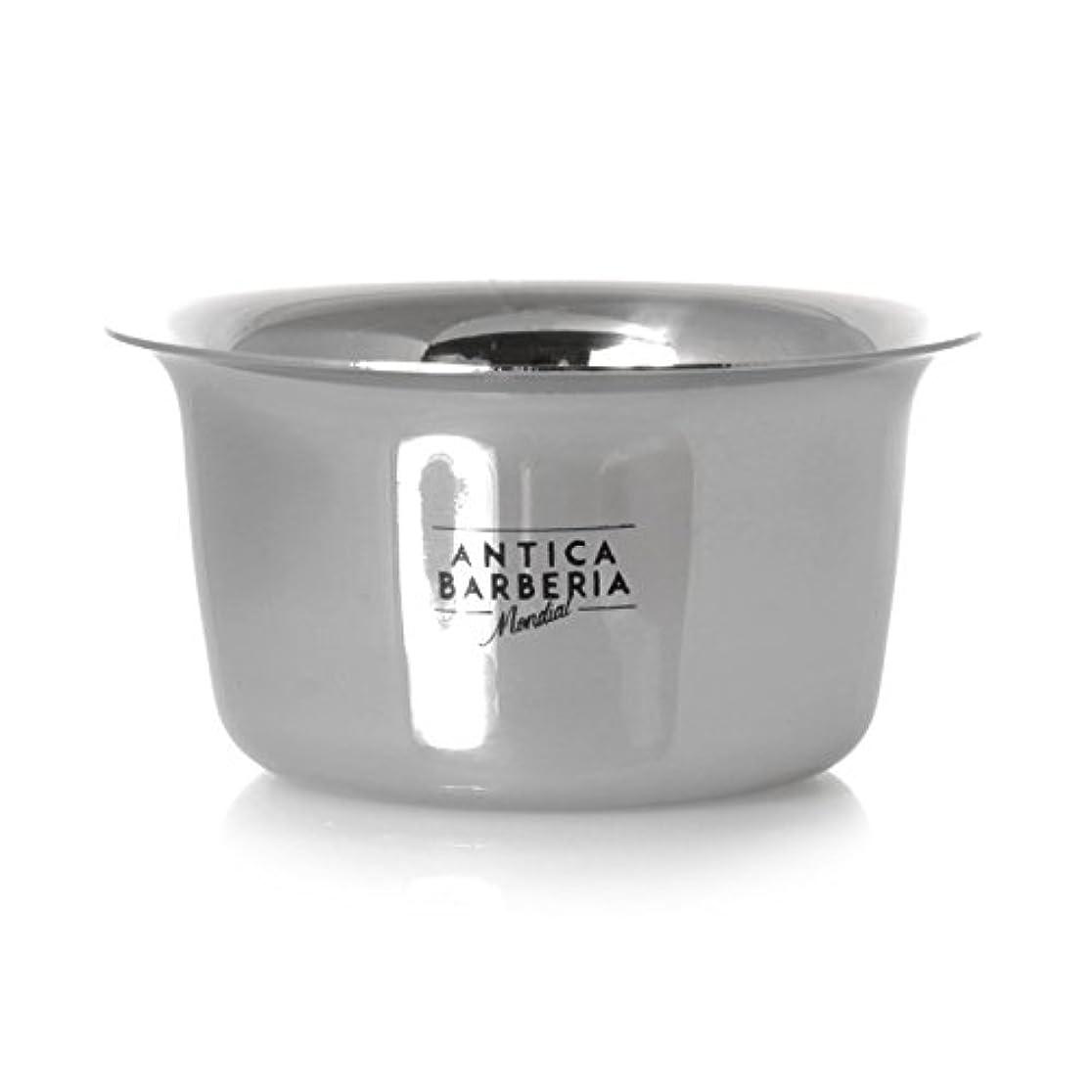 雄弁上がる教えAntica Barberia Mondial - Shaving bowl - Stainless steel