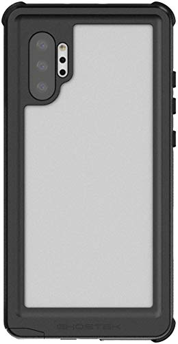 Ghostek Nautical Galaxy Note10 Plus Waterproof Case Dual Layer Full Body Shell Heavy Duty Protection with Shock Absorbing Corners Underwater Phone Cover for Samsung Galaxy Note10+ 5G (6.8') - Black