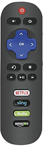 Replacement Remote for All TCL Roku TV - No Setup Required