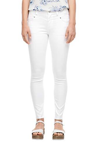 s.Oliver Damen Skinny Fit: Weiße 7/8-Jeans white 44