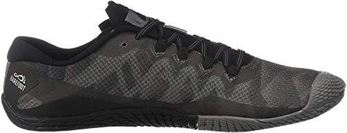Merrell Men's Vapor Glove 3 Sneaker, Black/Silver, 11.5 M US