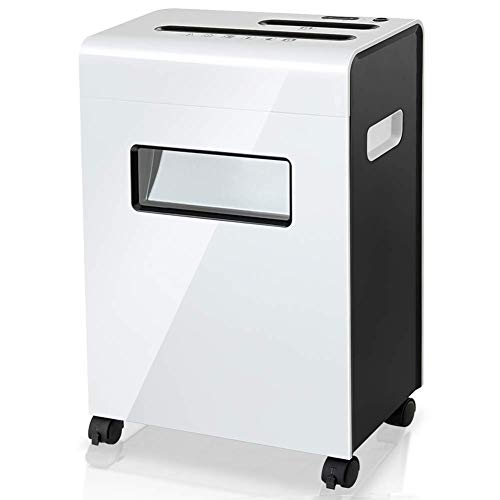 Why Choose NILINLEI Commercial Mobile Shredded, Paper/Broken Card/Broken Disc Document Shredder Larg...