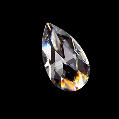 ACEACE 38mm / 50mm / 63mm Glas Kristall Mesh Kronleuchter Teile Suncatcher Kristall Anhänger für Beleuchtung Kristall Hängende Tropfen (Color : 50mm 100pcs)