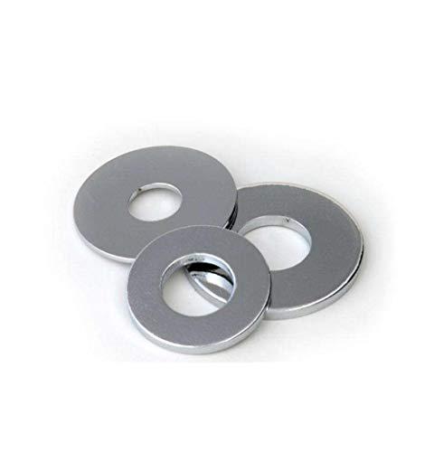 Junta de hierro galvanizado, arandela plana de metal-Gris claro M10 * 20 * 2: 1 kg