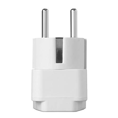 Ballylelly Adaptador Universal Enchufe eléctrico Enchufe de alimentación de CA de la...