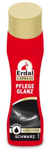 Erdal Pflegeglanz schwarz, 4er Pack (4 x 75 ml)
