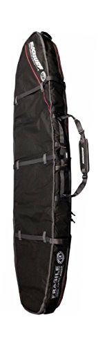 """2 Longboard Coffin   Surfboard Travel Bag and Surf Cover (9'6"""" Long   25.5"""" Wide   5.9"""" Thick)"""