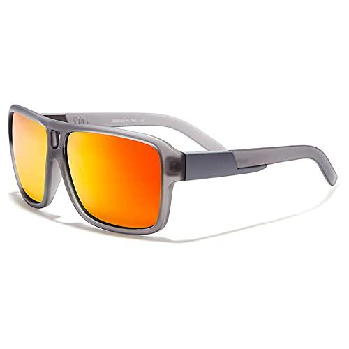 Amethyst Gafas de Sol para Hombres y Mujeres, protección UV400 polarizada, Montura Liviana, Gafas de Sol Deportivas para béisbol, Golf, Caza, Correr, Conducir, Bicicleta, Escalada,A