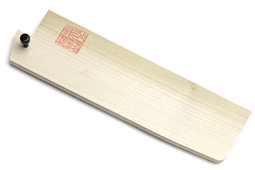 Yoshihiro Protector de hoja de madera de magnolia natural para Nakiri (165 mm)