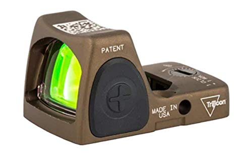 Trijicon RMR Adjustable (LED) Sight 3.25 MOA Red Dot, Coyote Brown