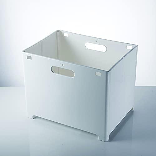 CCBZK Cesta plegable para colgar en la pared, cesta de almacenamiento de plástico para estudio, para oficina, hogar, 38 x 28 x 30 cm