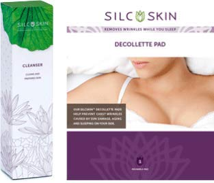 Silc Skin Ranking TOP2 Complete Chest Courier shipping free shipping Care 1 Decollette Pad Includes Reusable