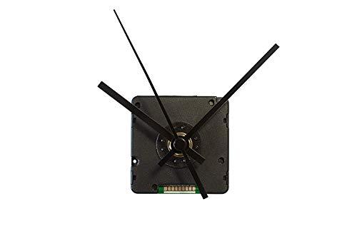 TFA Dostmann 60.3518.01 Funk-Uhrwerk mit Uhrzeigerset, Uhrwerk für Wanduhr, zum Basteln, Funkuhr (schwarz mit Batterie)