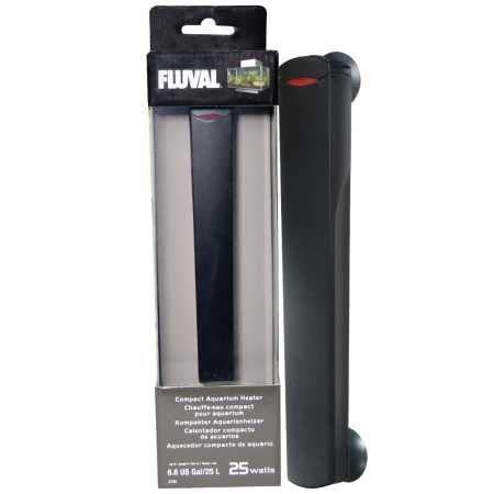 Fluval Edge kompakter Aquarienheizer 25W für Aquarien bis zu 25l