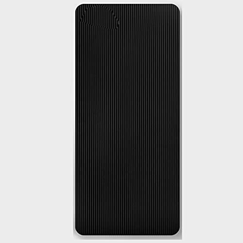 KOKIN Esterilla Deporte Antideslizante con Material ecológico, Yoga Mat diseñado para Entrenamiento físico, 183cm x 66cm x 1.5cm