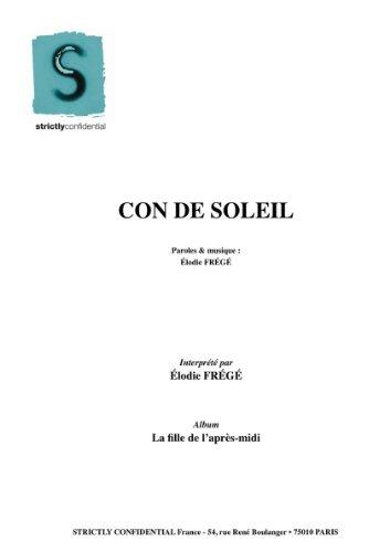 CON DE SOLEIL