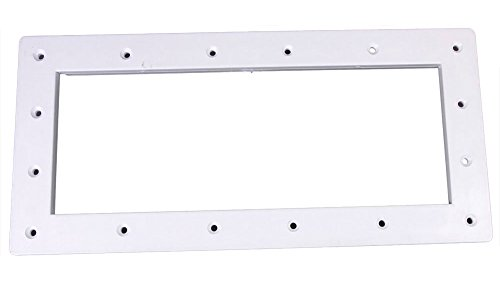 Custom 25541-000-010 Creusée Skimmer Large Faceplate - Blanc