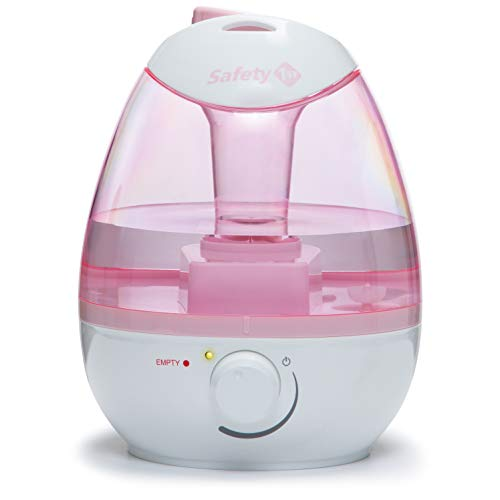 Safety 1st Filter Free Cool Mist Humidifier, Pink, Pink, One...