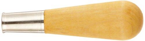 Nicholson Metal Ferruled Wooden File Handle, Size 0, 5-1/4
