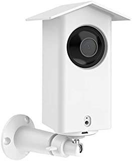 Koroao Real Water Resistant Protective Case + Metal Wall Mount Bracket for Wyze cam pan,Suitable for Indoor and Outdoor Us...