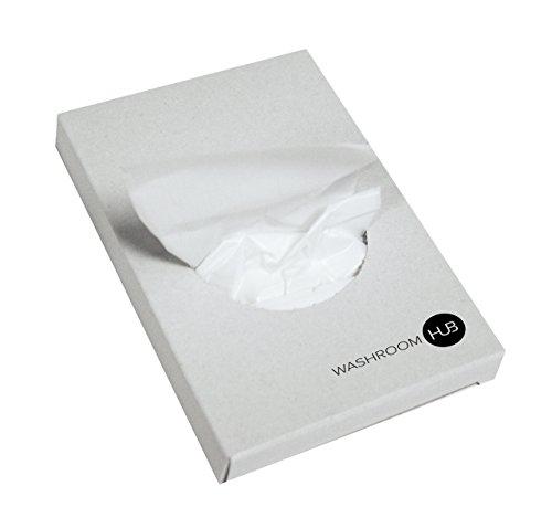 Nachfüllbeutel für Hygienebeutelspender - Geeignet für an der Wand befestigte Hygienebehälter (Nachfüllbeutel aus Polyethylenbeutel (25 Stück))