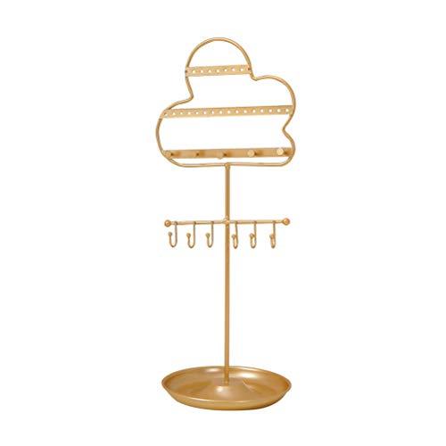 Toyvian 1 soporte de exhibición de joyería diseñado en la nube para pendientes, collar y almacenamiento