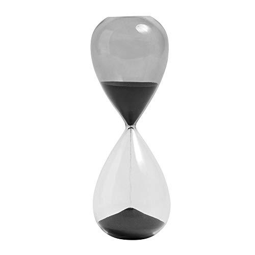Time L Sanduhr Schwarz Hay