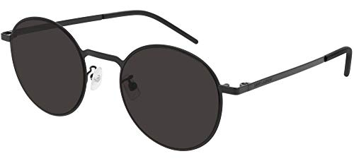 SAINT LAURENT Gafas de Sol SL 250 SLIM Black/Dark Grey 51/22/145 unisex