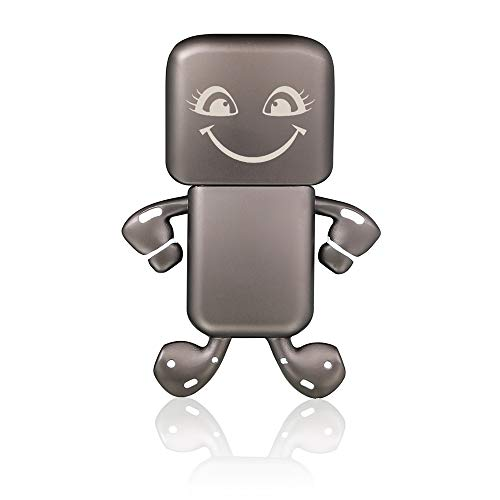Adorable USB Drive 64GB Flash Drive Cute Thumb Drive USB Stick Pendrive Jump Drive with Keyring(smileface)