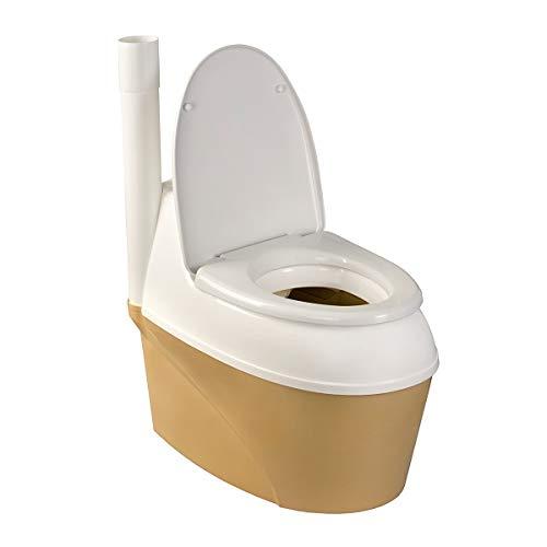 Agande Komposttoilette WC-B 500 Torf Bio Toilette * Gartentoilette * Trockentoilette * Campingtoilette * Bio WC *