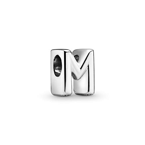 Pandora Damen Moments Buchstabe M Alphabet-Charm Sterling Silber 797467