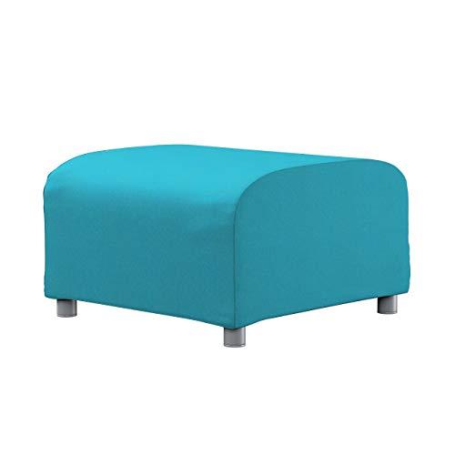 Dekoria Klippan Hockerbezug Sofahusse passend für IKEA Modell Klippan türkis
