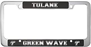 tulane university license plate frame