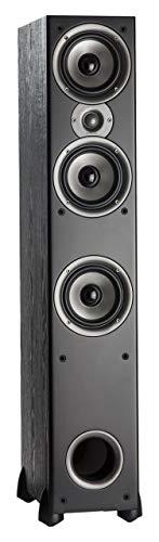 Polk Audio Monitor 60 Series II Floorstanding Speaker - 1 (1-inch) Tweeter and 3 (5.25-inch) Woofers | Black, Single (Renewed)