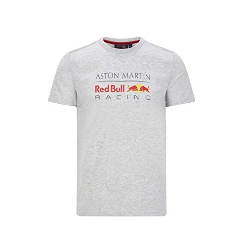 Red Bull Racing Offizielle Formel 1 Merchandise 2020 - Team Logo-T-Shirt Herren - Blau - Baumwolle - L