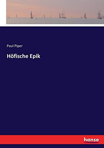 Höfische Epik